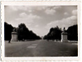 2 stare małe zdjęcia z pomnikami konnymi - Paryż i