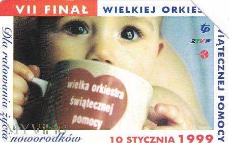 Karta telefoniczna - VII Finał WOŚP