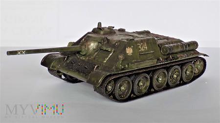 Działo pancerne SU-85 produkcji fabryki UZTM