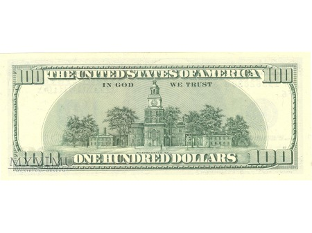 100 USD FEDERAL RESERVE NOTE 2003