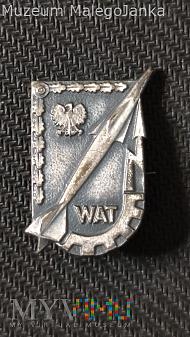 Duże zdjęcie Pamiątkowa odznaka WAT z 1975 roku