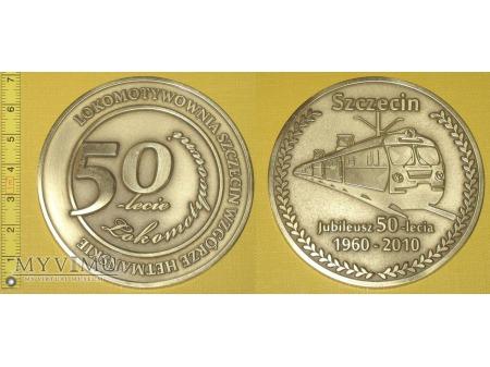 Medal kolejowy Lokomotywowni Szczecin Wzgórze Het.