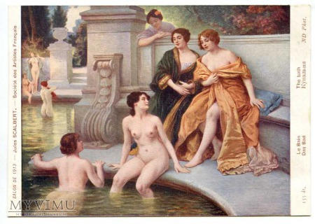 Duże zdjęcie Jules Scalbert - Kąpiel