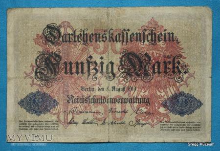 50 Mark 1914