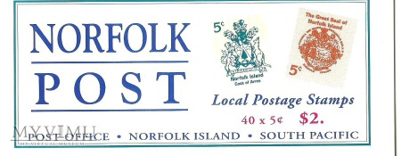 Norfolk Local Postage Stamps.