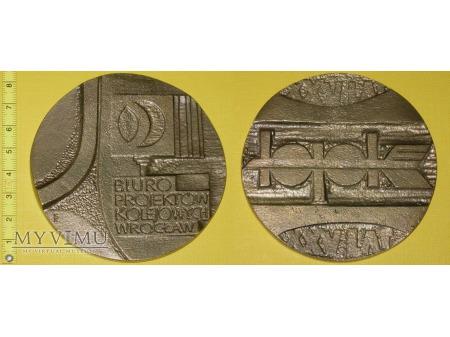 Medal kolejowy - firmowy BPK we Wrocławiu