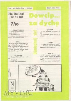 Dowcip...za dychę 7/95