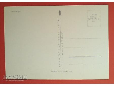Duże zdjęcie 1963 biegacz złocistawy karta Maximum Maksimum