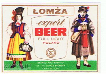 łomża export beer