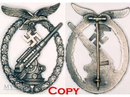 Odznaka Artylerii Przeciwlotniczej Luftwaffe