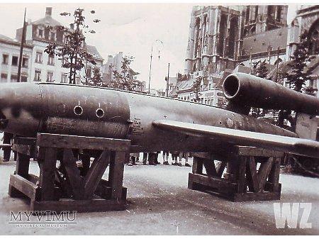 Duże zdjęcie Zdobyta rakieta V1