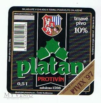 platan tmavé pivo