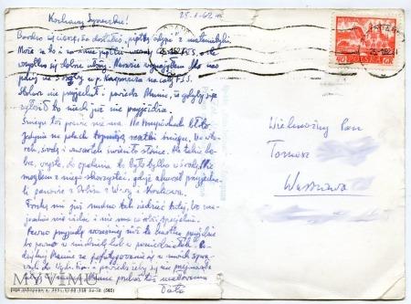 Tatry Widok na Giewont - 1962
