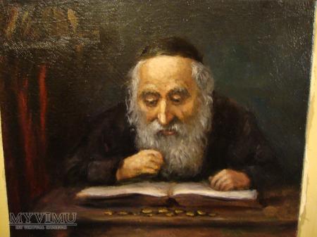 portret Żyda z pieniążkami