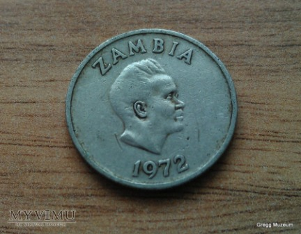 5 Ngwee-Zambia 1972