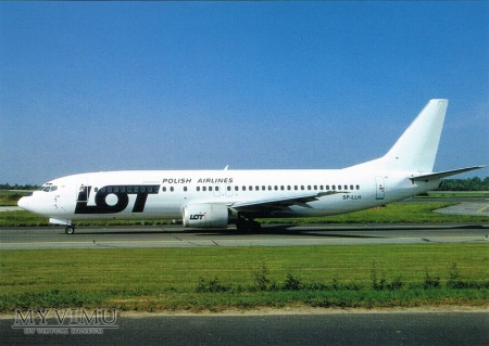 Boeing 737-4S3, SP-LLH
