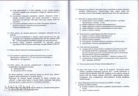 Regulamin umundurowania OSP