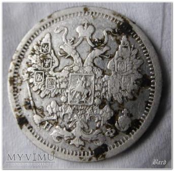 1879 - 15 kop. Aleksander II