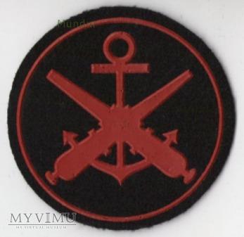 Oznaka specjalisty MW - artylerzysta okrętowy