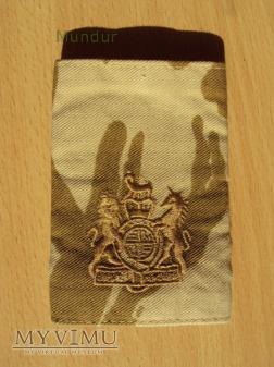 Wielka Brytania-oznaka stopnia: warrent officer 1