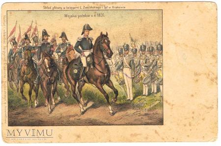 Duże zdjęcie Wojsko polskie z r. 1831