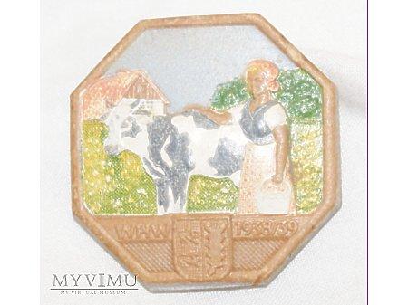 Duże zdjęcie Odznaka WHW Schlezwig Holstein 1938/39