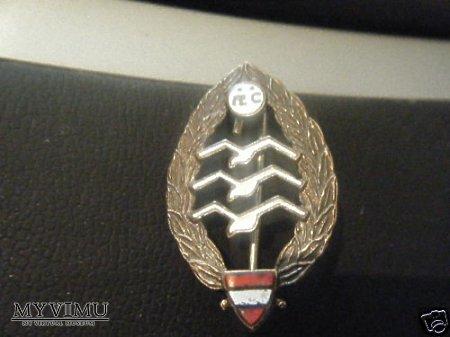 Odznak austriackiego pilota szbowcowego.
