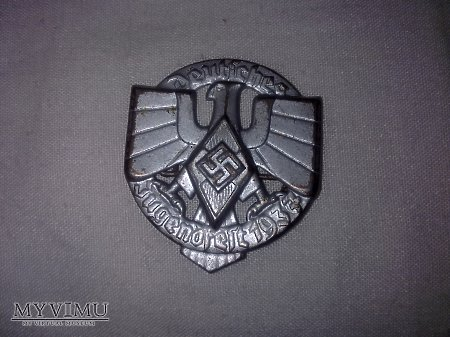 Odznaka sportowa HJ 1937