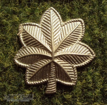 US Army: oznaka stopnia - podpułkownik