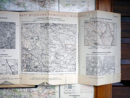Terenoznawstwo i Kartografja Wojskowa KRAKÓW 1920r