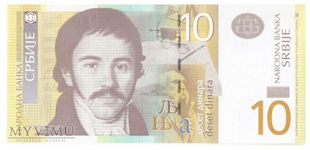 Serbia - 10 dinarów (2011)