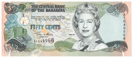 Bahamy - 50 centów (2001)