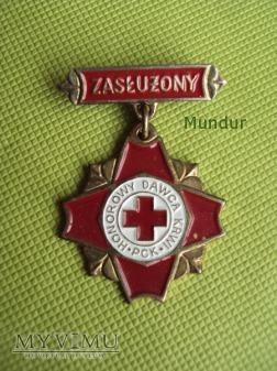 Duże zdjęcie Odznaka Zasłużony Honorowy Dawca Krwi III stopnia