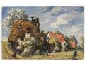 Widok wiejski - 1907