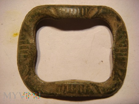 Klamerka zdobiona datowana na lata 1720 - 1790