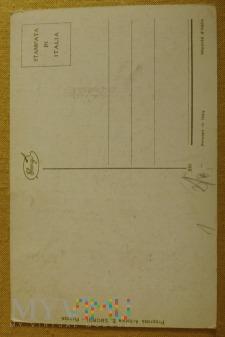 Kartka litografia Madonna na krześle
