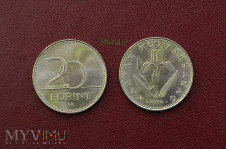 Moneta węgierska: 20 forint