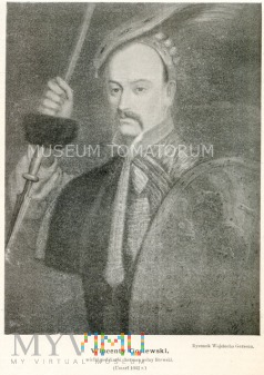 Gosiewski Wincenty - hetman polny - rys. Gerson