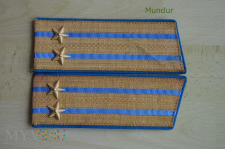 Pagony do munduru galowego - podpułkownik