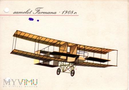 samolot Farmana 1908 r.