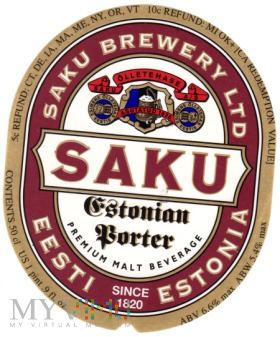 Saku Estonian Porter