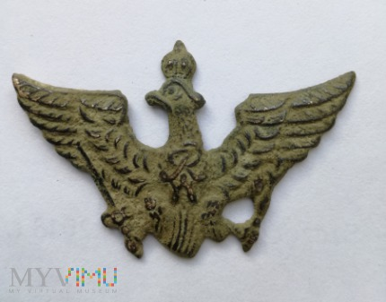 Pruski orzeł grenadiera z monogramem FWR