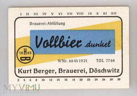 DÖSCHWITZ - Kurt Berger