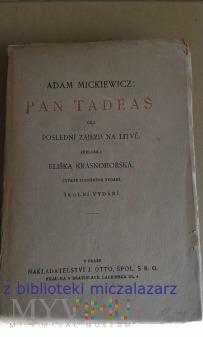 Duże zdjęcie Pan Tadeaš Adam Mickiewicz