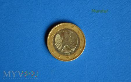 Moneta: 1 euro NIEMCY 2002