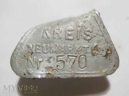 Psi identyfikator KREIS NEUMARKT (D) 1941 570
