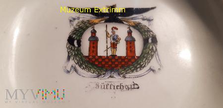 Popielniczka z herbem Zullichau