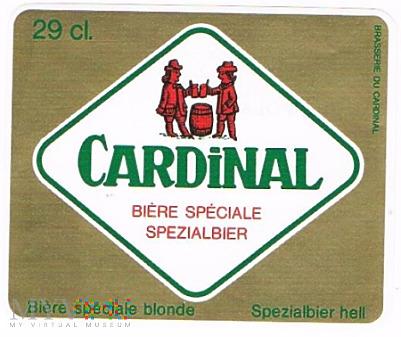 cardinal biére spéciale