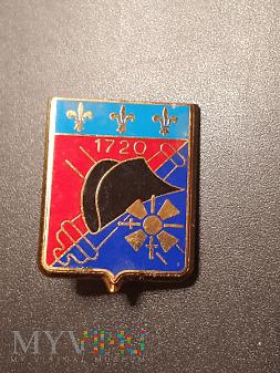 Pamiątkowa odznaka 4 Pułku Artylerii - Francja