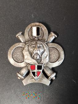Odznaka Centrum Szkoleniowego 61 RA i35 RI_Francja